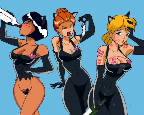 Totally Spies Cartoon Sex