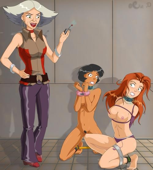 Glory Hole Totally Spies Comic